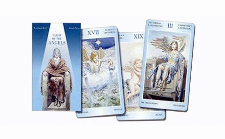 Tarot de los angeles (6.6 x 12 cm)