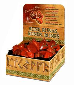 Red jasper - código RUNE09