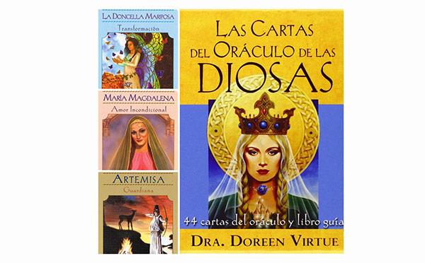 Oráculo de las Diosas +libro